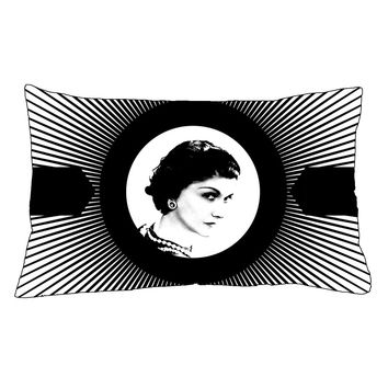 """HOT Mademoiselle Inside Chanel Pillow Case 18""""x 26"""" - 2 Sides Cushion Cover"""