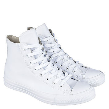 Converse CT HI Unisex White Casual Lace-Up Sneakers | Shiekh Shoes