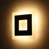 Modern 16W   LED Wall Light AC85-265V Restroom Bathroom Bedroom Reading Wall Lamp Decoration Light wx127