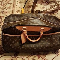 Louis Vuitton Eole 60 Duffle Bag Brown
