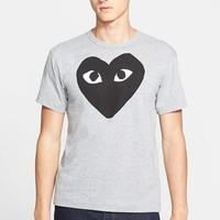 Men's Comme des Garcons Logo Graphic Crewneck T-Shirt