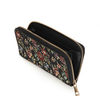 Tapestry Zip Around Purse - Bags & Purses - Bags & Accessories - Topshop