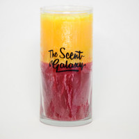 Pineapple + Cherry Fragrance in Palm Wax , Highly Scented Candle , Ultra Long Burn