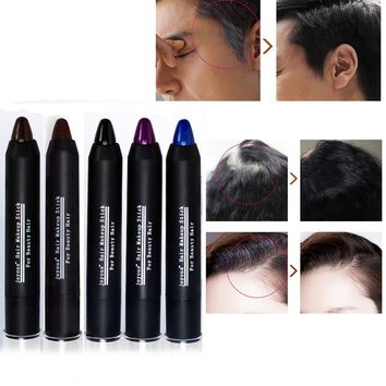 5 Color Temporary Hair Dye Brand Hair Color Chalk Crayons Paint Hair