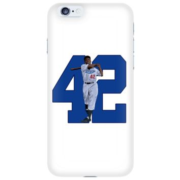"""Jackie Robinson """"Game Changer"""" Phone Case"""