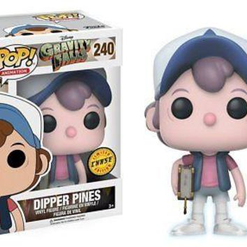 Funko Gravity Falls Dipper Pines Pop! Vinyl Figure CHASE VARIANT