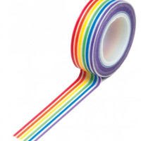 Rainbow Stripes Washi Tape - LGBT