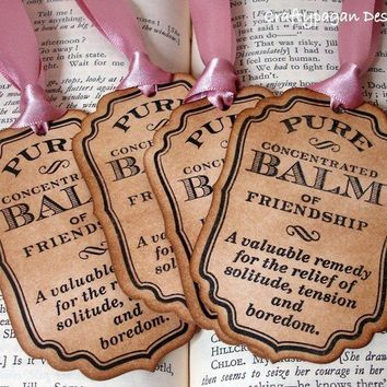 FriendshipHandmade Vintage Style Labels/Tags SET of by craftypagan