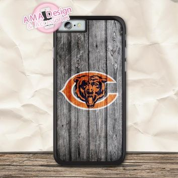 Chicago Bears Football Protective Case For iPhone X 8 7 6 6s Plus 5 5s SE 5c 4 4s For iPod Touch