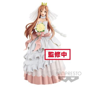 Asuna Wedding Version - EXQ Figure - Sword Art Online Code Register (Pre-order)