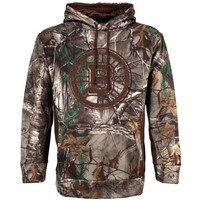 Boston Bruins Old Time Hockey Realtree Hackett Pullover Hoodie – Camo