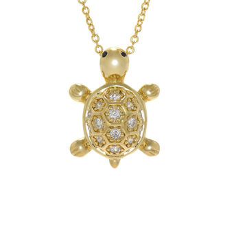 Turtle Token Necklace