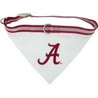 Alabama Crimson Tide NCAA Dog Collar Bandana