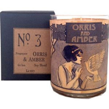 Orris and Amber Wood Candle No. 3