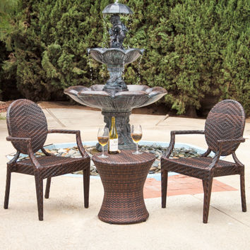 Giesel 3 Piece Dining Set