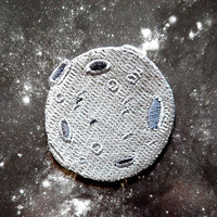 Moon Iron On Patch