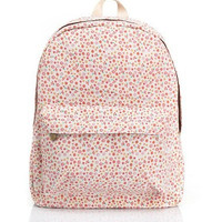 Lovely Korean Cute Canvas Backpack = 4887585796
