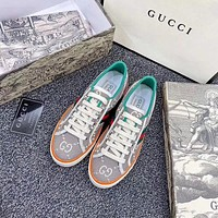 GUCCI Canvas shoes