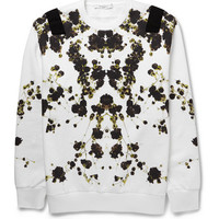 Givenchy - Floral-Print Cotton-Jersey Sweatshirt | MR PORTER