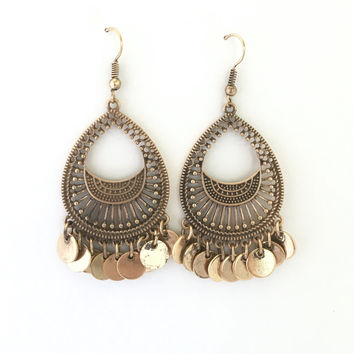Jasmine Earrings In Gold