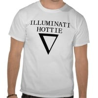 illuminati hottie tee from Zazzle.com