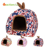 Cat Dog Small Pet House Fashion Puppy Beds Free Shipping