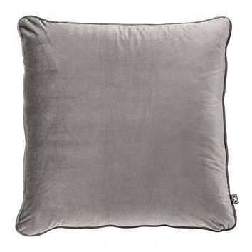 Gray Velvet Pillow | Eichholtz Roche