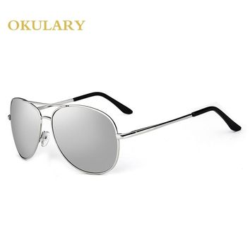 New 2017 Sunglasses Women Oculos Steampunk Sun Glasses Vintage Retro Glasses Women Fashion Polarized Sunglasses KM131 63-16-133