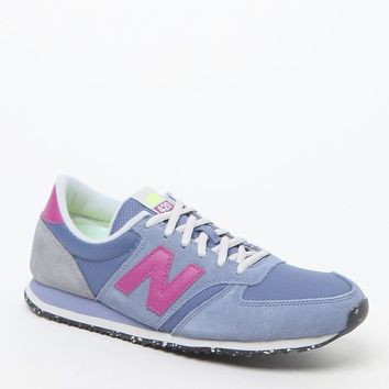 New Balance 420 Capsule Composition Slate Blue Running Sneakers - Womens Shoes - Blue