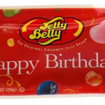 Jelly Belly Happy Birthday Lot 10 Bags Jelly Beans 1oz Made USA Party Gift Candy
