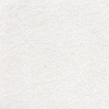 Fluffy White Fabric by the Yard | 100% Cotton