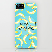 Gone Bananas! iPhone & iPod Case by Lisa Argyropoulos