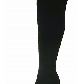 Jade Over The Knee Boots - Black