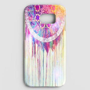 Bmth Sempiternal In Rainbow Watercolor Drop Samsung Galaxy S7 Case