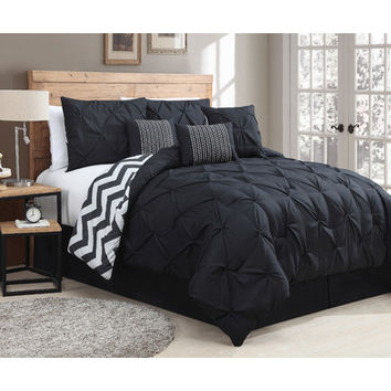 Geneva Home Ella 7 Piece Comforter Set & Reviews | Wayfair