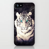 White Tiger - for iphone iPhone & iPod Case by Simone Morana Cyla