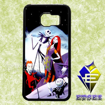 the nightmare before christmas jack family case For Samsung Galaxy S3/S4/S5/S6 Regular/S6 Edge and Samsung Note 3/Note 4 case