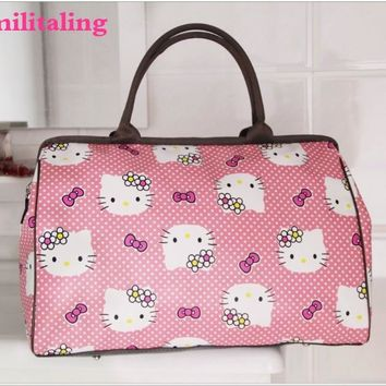 New Hello kitty Large Bag Travel Tote Handbag purse yey-p6612
