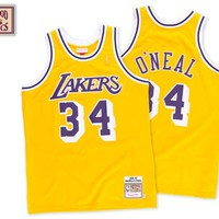 Shaquille O'Neal Los Angeles Lakers 1996 - 1997 Authentic Jersey - Mitchell & Ness Nostalgia Co.