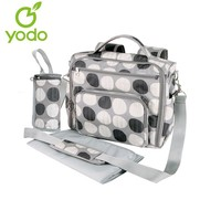 Yodo Partable Mommy Bag Women Backpack with Convertible Baby Backpack Diaper Bag, Plus Changing Pad and Insulated Bottle Holder