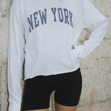 Camila New York Top - Graphics