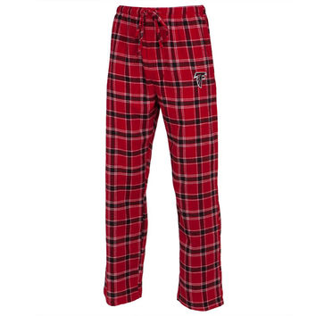 Atlanta Falcons - Logo Plaid Lounge Pants