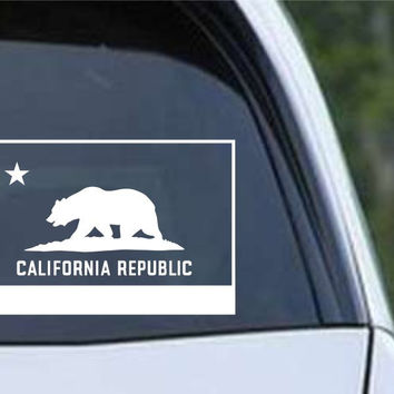 California State Flag CA - USA America Die Cut Vinyl Decal Sticker
