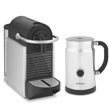 Nespresso Pixie Espresso Maker with Aeroccino Plus Automatic Milk Frother