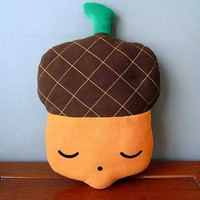 littleoddforest | The Mighty Acorn Cushion