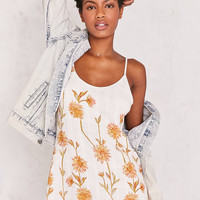Kimchi Blue Cambridge Floral Dobby Slip Dress   Urban Outfitters
