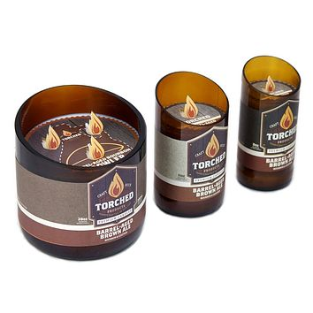 Barrel Aged Brown Ale Candle