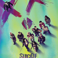 Suicide Squad MightyPrint Wall Art