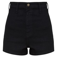 Black Disco Fit Short