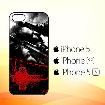 Boondock Saint Movies Series Z0346  iPhone 5|5S|SE Case